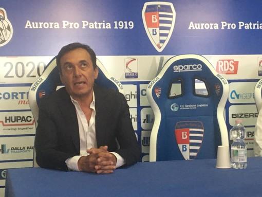Luca Prina si è presentato oggi alla stampa