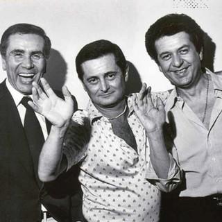 Da sinistra Enzo Tortora, Lucio Flauto e Renzo Villa: figure straordinarie degli anni Settanta nei nostri territori (foto da sito Via per Busto 15)