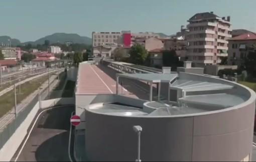 VIDEO. Ecco com'è il nuovo parcheggio dell'Ospedale del Ponte
