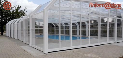La piscina nella struttura