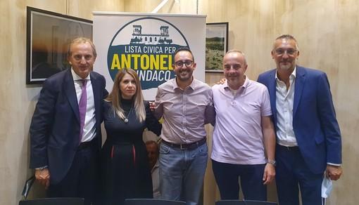 Da sinistra, Antonelli, Moschitta, Artusa, De Vita e Iadonisi