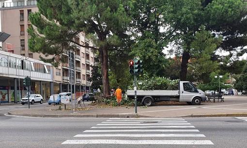 """Busto, al via i lavori per la rotonda """"sperimentale"""" di San Michele"""