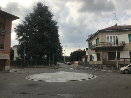 Rotatoria via Milano a Legnano