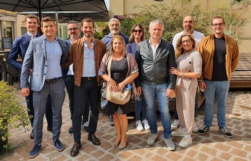 L'onorevole Sofo con esponenti e candidati di Fratelli d'Italia