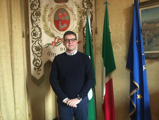 Il sindaco di Gallarate, Andrea Cassani