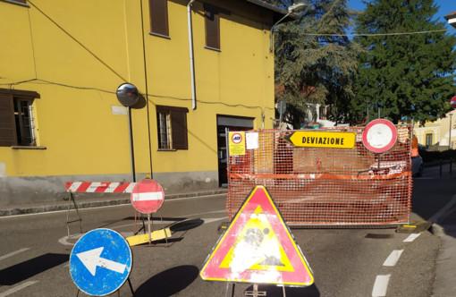 Solbiate, ancora due settimane di stop in via Sant'Antonino