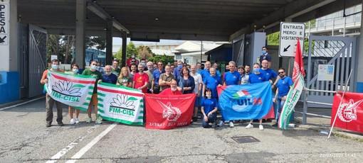 La delegazione a Cassinetta (in alto) e a Roma (in basso nella gallery)