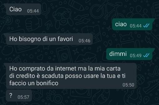 Lo screenshot pubblicato da ilSaronno.it