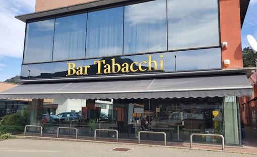 Il bar teatro della maxi vincita (foto LuinoNotizie.it)