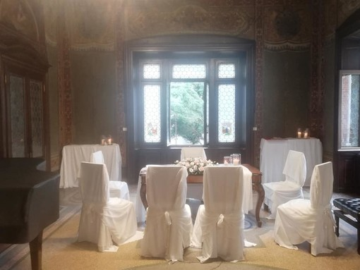 Villa Tosi accoglie un matrimonio e la sua magia